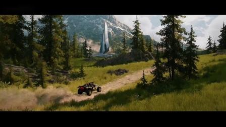 《光环:无限》E3官方预告,网友彻底佩服微软|奇游加速器