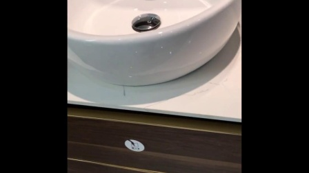 VAMA 800mm Italian new design waterproof melamine quartz top  vanity 762031