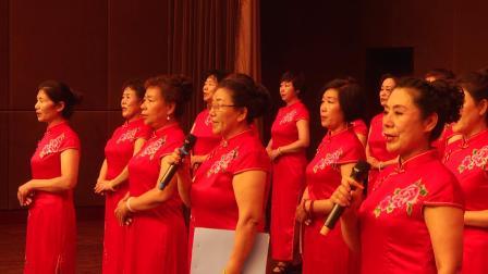 没有共产党就没有新中国  高碑店市旗袍协会演出