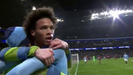 英超21轮 曼城2-1利物浦 萨内72分钟进球