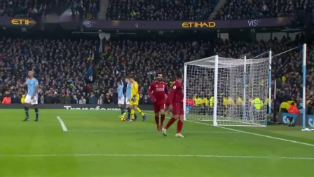 英超21轮 曼城2-1利物浦 菲尔米诺64分钟追平比分