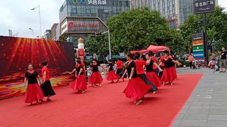 2018-6-18青岛城阳体育舞蹈协会参加交通银行交谊舞赢百万大奖海选比赛  拍摄  纪美芳