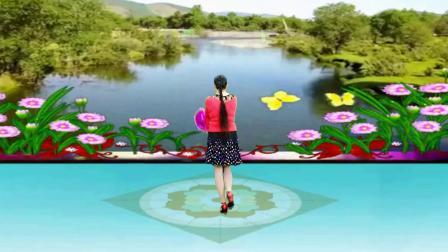 焦陂百和花球舞视频《三月里的小雨》附正背面分解4步教学