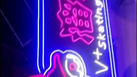 LED柔性霓虹燈12v軟燈帶定製招牌字軟裝標識標牌發光字母造型設計