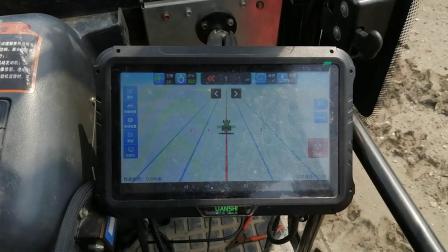 沃得拖拉机搭配自动驾驶系统操作视频