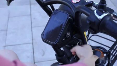 君晓天云台铃2019新款低卡20Ah锂电池电动车电动脚踏车电动车成人滑板车滑板车