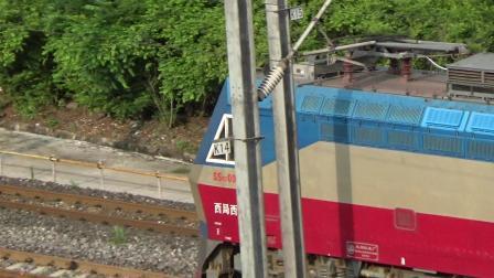[火车][交汇]SS7D 0013[K817]北京西-成都+CRH2A[D5181]达州-成都东