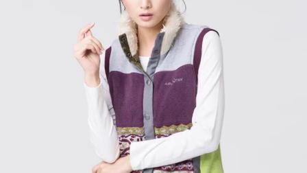 君晓天云AIRTEX亚特秋冬款女士马甲短款棉服户外运动女士背心保暖无袖棉衣