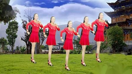 点击观看《16步广场舞视频教学《我的爱要你知道》焦陂百和广场舞》