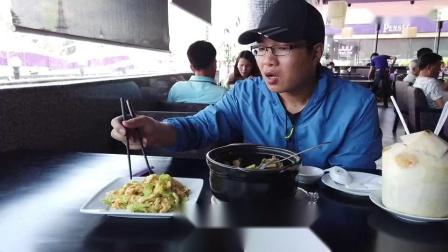 忍不住進了一家越南的中餐館,在這里吃一頓中餐簡直太奢侈了_高清