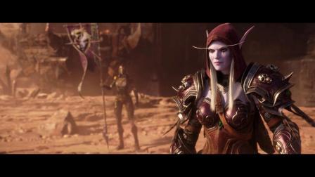 台版中文剧透 魔兽世界 谈判 决战奥格瑞玛 CG动画两部合集
