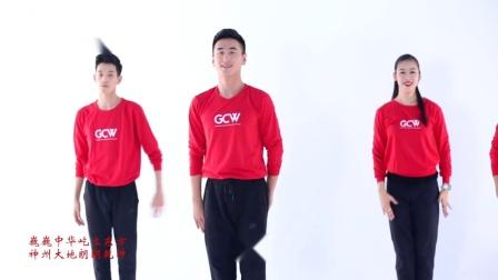 王广成广场舞中国心教学分解 一步一步跟着老师学
