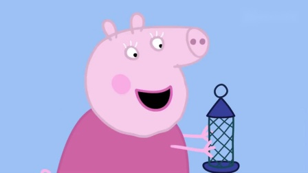 小猪佩奇猪爷爷刚刚撒下种子,怎么一转身的时间,种子就不见了