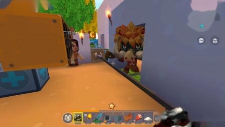 迷你世界:二狗子真有创意,他做的陷阱,能困住怪物还能自动射击