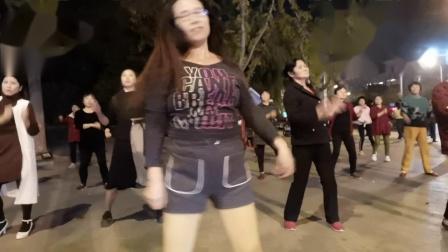 舞灵美娜子原创广场舞《饿狼传说》夜舞版