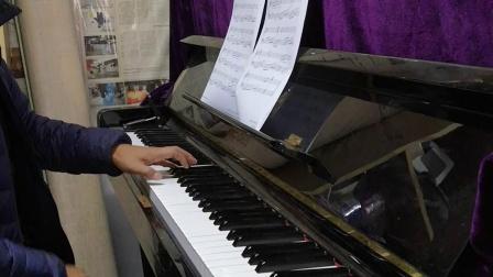 钢琴《一剪梅-舟过吴江》