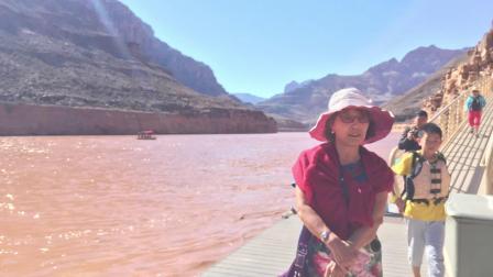 美国18天7世界八大奇迹---科罗拉多大峡谷。。