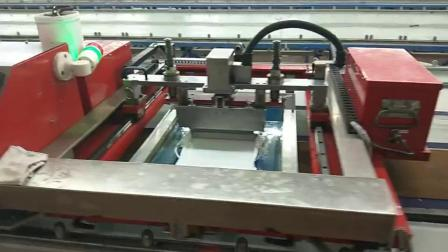 臺板印花機廠家歐悅自動化 鞋材硅膠印刷機印厚板的機器
