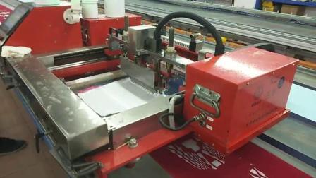 歐悅鞋材印刷機 電動智能走臺跑臺印花 臺板印花機械設備