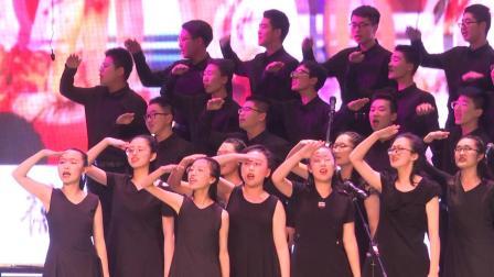青岛五十八中2019年校园合唱节--高一·4班:《奉献》