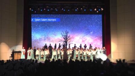 青岛五十八中2019年校园合唱节--高一·12班:《伯利恒之星》