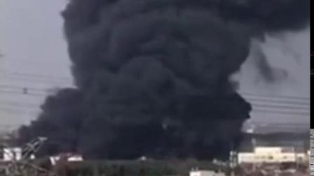 上海嘉里粮油有限公司突发大火 浓烟高达飞机的高度!
