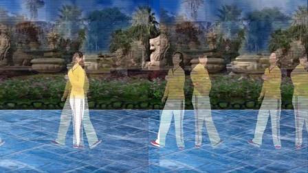 点击观看《阿娜广场舞 望爱却步 脚步舞》