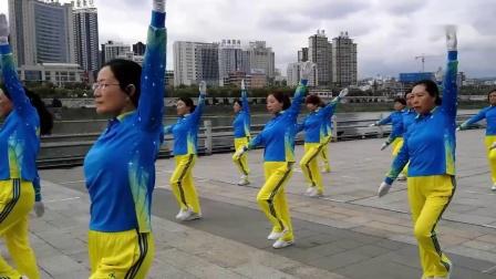 0中国梦之队新版第三套快乐之舞健身操_超清