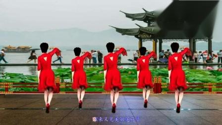 点击观看笑春风广场舞视频大全 中年健身舞莲花亭教程分解视频