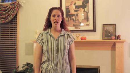 女指挥/作曲家米歇尔·威利斯教如何指挥音乐合唱队与乐队。第三课:打6/8, 9/8, 12/8拍子的动作(复合拍)