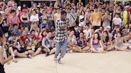 这就是街舞3:布布bouboo早前与女友陈妍臻Nikki的比赛,超有范的hiphop情侣!