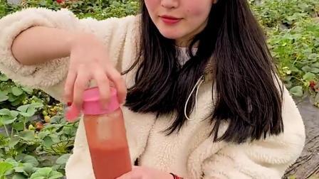 家里随身备上这样的榨汁杯,随时随地都能喝到新鲜的果汁了