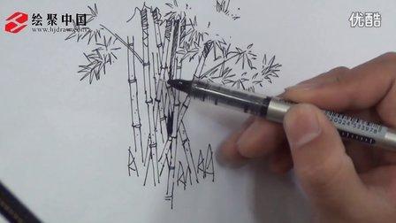 郑州绘聚中国手绘教学视频—徐志伟景观单体线稿