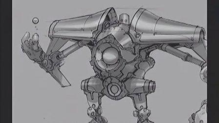 機器人概念設計手繪教程朱峰