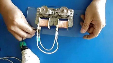 永动机电子电容电机发电电路图