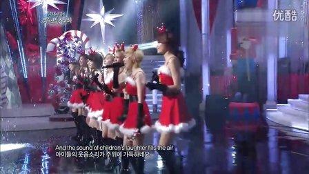[高清LIVE]111224.少女时代《圣诞节我想的全部是你》.少女时代圣诞特辑