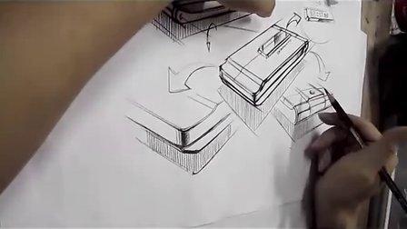 工业设计手绘视频教程—黄山手绘工厂—3c产品设计产品手绘