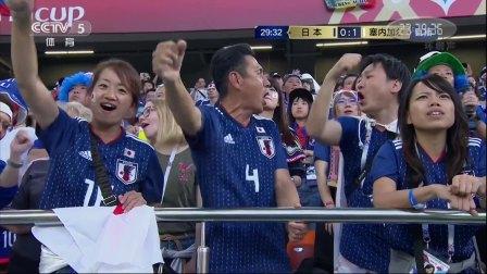 2018世界杯 H组日本VS塞内加尔 【花絮】日本球迷