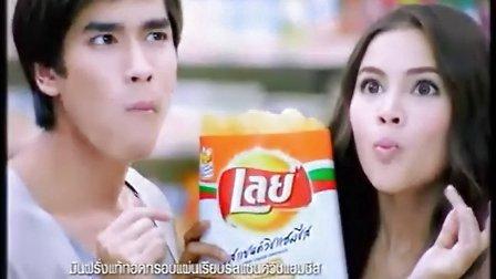 Yaya Nadech泰国乐事Lays薯片广告(芝士火腿三明治口味)