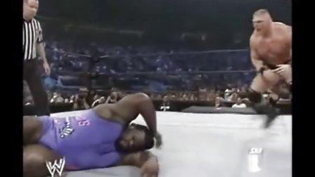 WWE 布洛克VS马克亨利 Brock Lesnar vs Mark Henry
