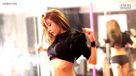 超性感!韩国美女车模主播许允美钢管舞高清视