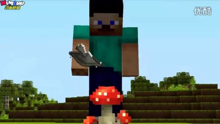 MC动画 如果史蒂夫发现了骨粉 PandoraMinecraft图片