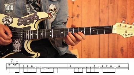 重金属主奏电吉他教程No.25《慢速推弦技巧》面日常妆教学jk图片
