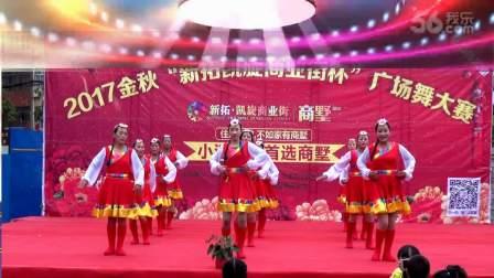 徐桥村舞蹈队广场舞《想西藏》摄制 张象富