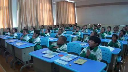 北师大版一年级数学《小鸡吃食》优秀课堂实录-教学能手李老师