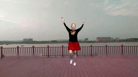 宜阳明萱广场舞 争什么争 动感健身操视频 跳一跳十年少