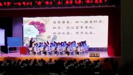 部編版七年級語文名師課堂《愛蓮說》教學視頻-特級教師王崧舟