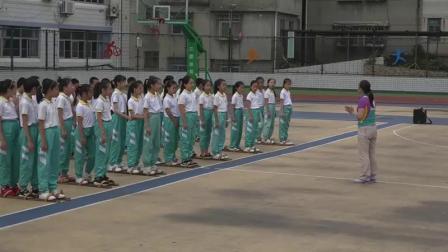 四年级体育《三人板鞋竞速》获奖教学视频-福建优质课展评课例-执教沈老师