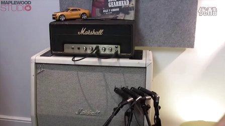 麦克风与电吉他拾音