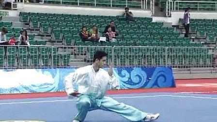 第十二届全运会武术套路预赛 男子赛区 男子太极拳 032 周琳海(广西)